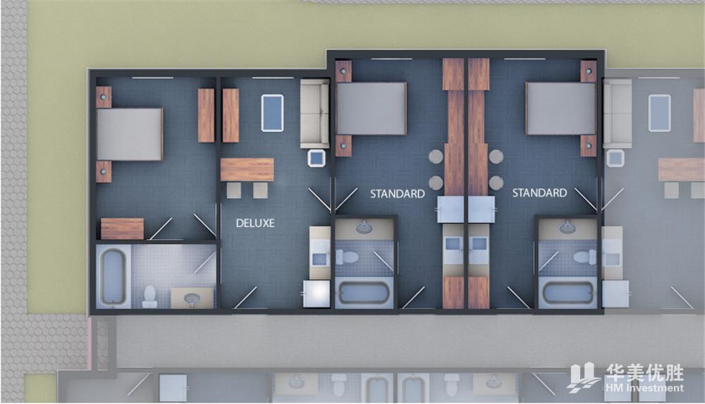 奥兰多度假酒店公寓—橡树湾